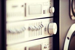 Stereo Audio Rack Component Knob