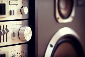 Stereo Audio Music Volume Knob