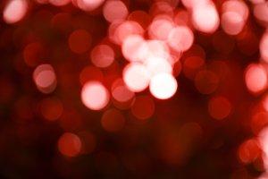Red blur bokeh background