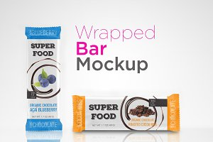 Bar Wrapper Mockup