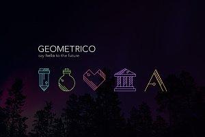 Geometrico - Line Icons