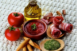 Tapas and Ingredients