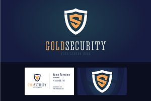 Gold security logo