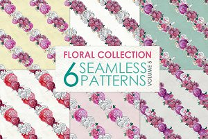 Floral Pattern Collection Vol. 5