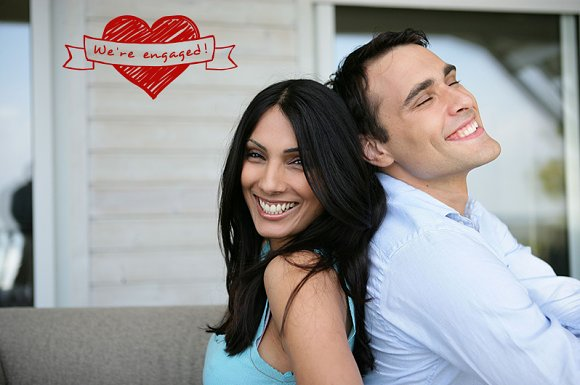 Engagement Photo Overlays in Photoshop Layer Styles - product preview 4