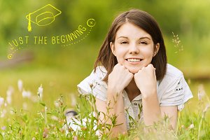 Graduation Photo Overlays