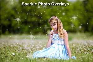 Sparkle Photo Overlays