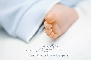 Creative Newborn Photo Overlays