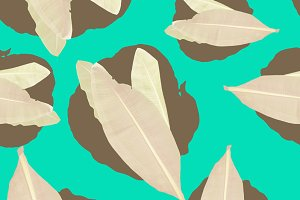 Seamless fashion tropical pattern