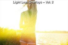 Light Leak Overlays – Vol. 2