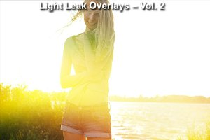 Light Leak Overlays – Vol. 2