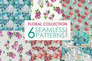 Floral Pattern Collection Vol. 6