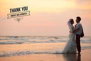 Wedding Thank You Overlays