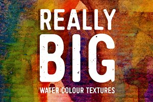 Really Big Watercolour Textures