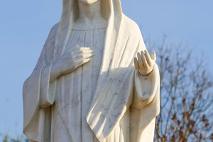 Statue Of Holy Mary Of Medjugorje