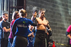 Crossfit Competition High-Five