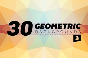 Geometric Backgrounds 30 - 3