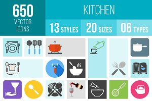 650 Kitchen Icons
