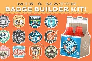 Magnificent Mix & Match Badge Kit