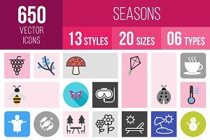 650 Seasons Icons