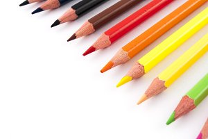 multi colors pencils