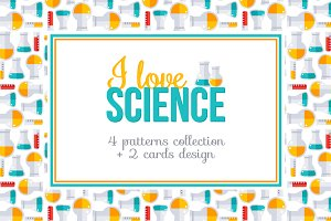 Science Patterns Collection