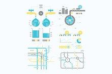 infographics abstract presentation