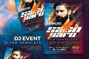 DJ Event Flyer Template Vol.1
