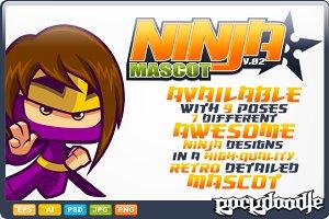 Ninja Mascot V.02