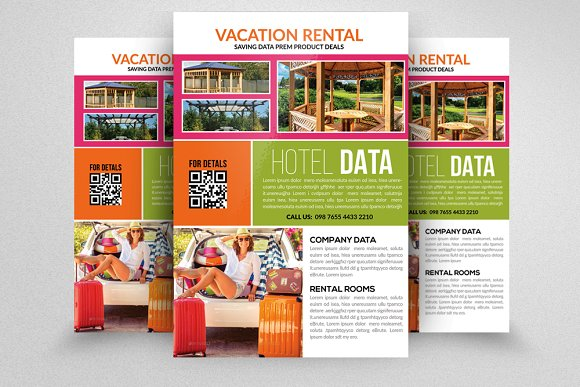 Rental Flyer Template Elegant Interior And Furniture Layouts