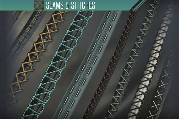 Textures & Material: Substance Tools - Seams and Stitches