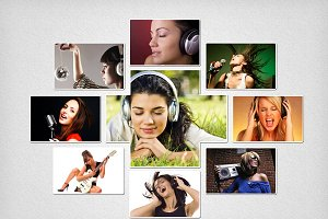 Photo Collage Template 03