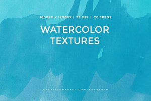Watercolor Textures V15