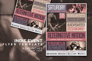 Indie Flyer Template Vol.1