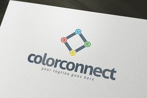 Color Connect Logo Template