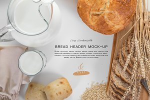 Bread Header Mock-up