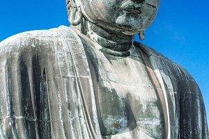 Buddha statue. Japanese temple