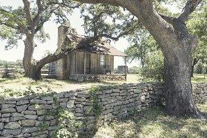 Abandoned House on Farm