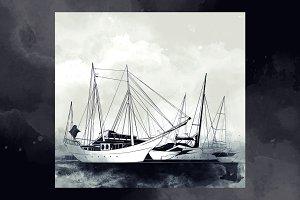The yacht club on Krestovsky island