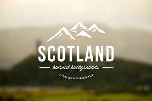 Scotland blurred background pack