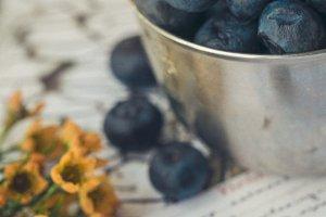 Blueberries for baking