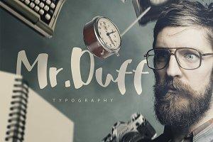 Mr. Duff Typeface