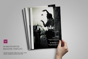 A5 Multipurpose Magazine Template