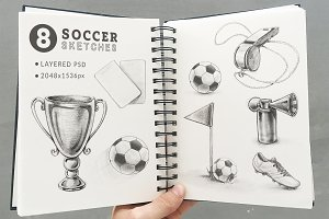 Soccer-Sketches