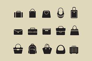 15 Bag Icons
