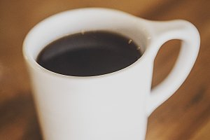 Coffee Mug Closeup