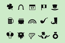 15 St Patrick's Day Icons