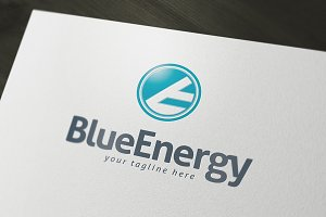 Blue Energy Logo Template