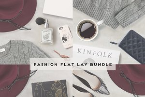 Square flat lay photo bundle #1