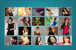 Photo Collage Template 04